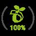 100% biologisch abbaubar