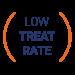 baja tasa de tratamiento