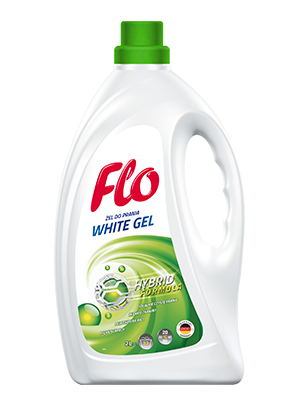 FLO WHITE GEL 4 in 1 WHITE FABRIC WASHING GEL
