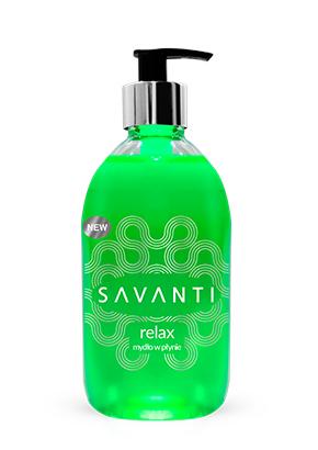 SAVANTI<sup>&reg;</sup> RELAX ALOE VERA HAND SOAP