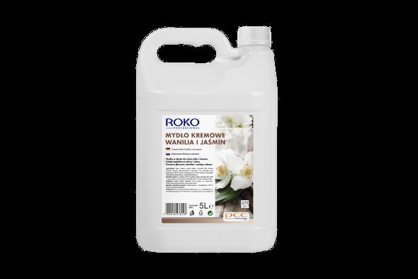 ROKO PROFESSIONAL CREAMY SOAP vanilla and jasmine petals