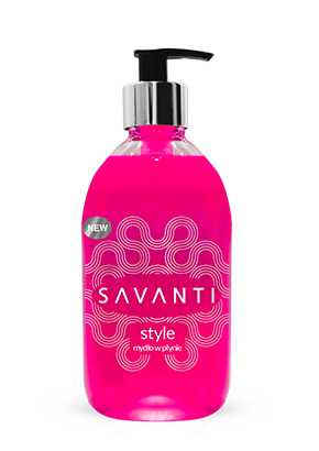 SAVANTI STYLE ROSE LIQUID SOAP