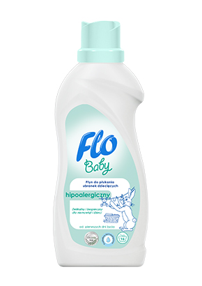 FLO<sup>&reg;</sup> BABY FABRIC SOFTENER FOR BABY CLOTHES