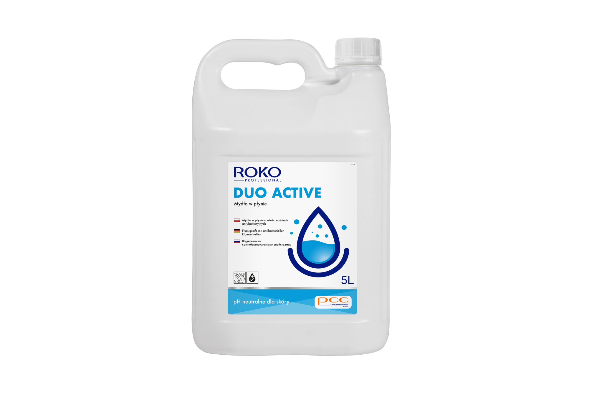 ROKO<sup>&reg;</sup> PROFESSIONAL SOAP DUO ACTIVE