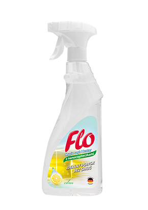 FLO<sup>&reg;</sup> MIRRORS AND GLASS CLEANER WITH NANOPARTICLES