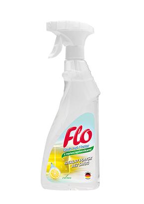 FLO GLAS- UND FENSTERREINIGER MIT NANOPARTIKELN