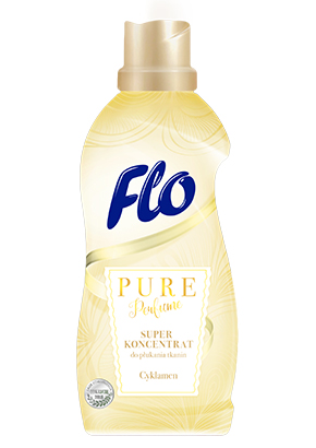 FLO<sup>&reg;</sup> PURE PERFUME CYKLAMEN CONCENTRATED FABRIC SOFTENER