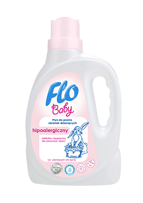 FLO<sup>&reg;</sup> BABY WASHING LIQUID FOR BABY CLOTHES