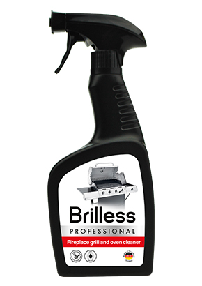 BRILLESS<sup>&reg;</sup> FIREPLACE, GRILL AND OVEN CLEANER